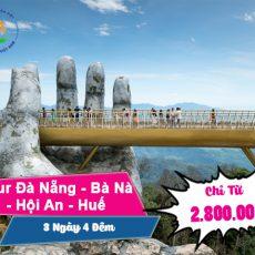Tour Đà Nẵng – Bà Nà Hills – Hội An – Huế – Thiên Đường 5 Ngày 4 Đêm